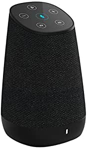 cowin DiDa with Amazon Alexa Bluetooth Speakers, Smart Wireless Wifi Portable Bluetooth Speaker 15W Output Power with Enhanced Bass- Black