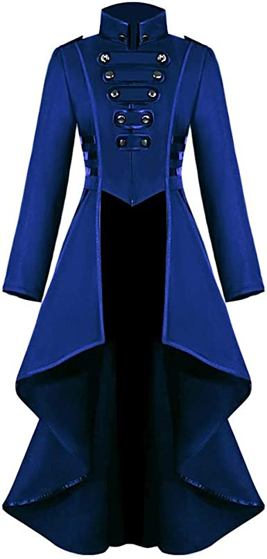 Manteau Femme Grande Taille à Capuche Vintage Punk Gothique