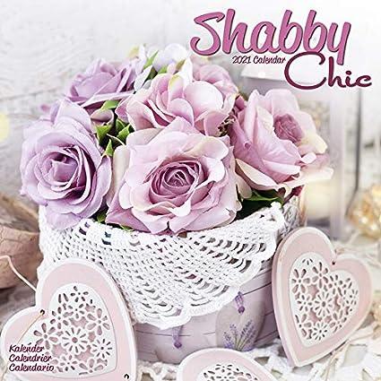 CALENDRIER 2021 SHABBY CHIC   DECORATION VINTAGE   DECORATION