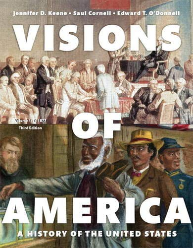 Revel for Visions of America: A History of the United States, Volume 1 -- Access Card (3rd Edition)