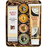 Burt's Bees Classics Gift Set, 6 Products in Giftable Tin – Cuticle Cream, Hand Salve, Lip Balm, Res-Q Ointment, Hand Repair Cream and Foot Cream review
