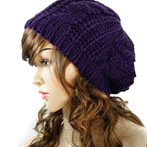 40aa609dde7 Best Value · Slouchy Beanie Winter Knitted Braided product image