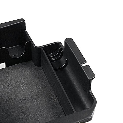 XCSOURCE Auto Black Leather Suture Console Armrest Lid Cover for Audi A3 8P 2003-2012 Center Console Cover Lid MA1808