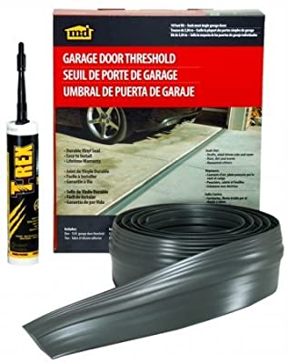 M-D Building Products 50100 10-feet Single Door Garage Door Threshold Kit