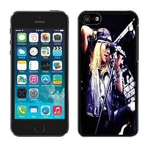 MMZ DIY PHONE CASEAxl Rose Black Hard Plastic iphone 6 plus 5.5 inch Phone Cover Case