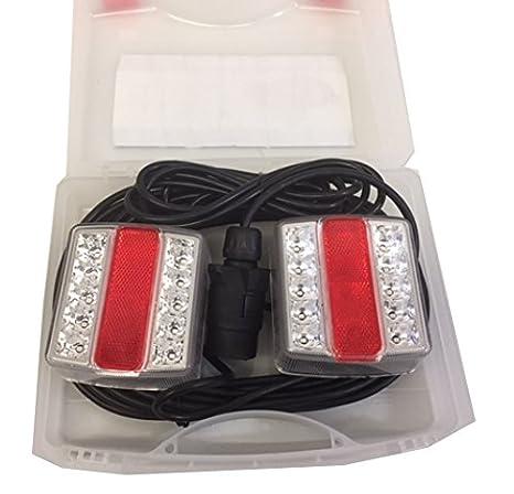 Wheels N Bits MAGNETIC LED TRAILER TOWING LIGHTBOARD LIGHTS 4M 7.5M or 10M METRE