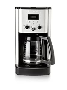 Cuisinart Brew Central 12-cup Porgrammable Coffeemaker + Permanent gold-tone filter and charcoal water filter