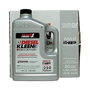 Power Service Diesel Kleen + Cetane Boost - 6/80oz. Bottles