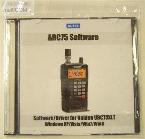 Uniden UBC75XLT Handheld Scanner