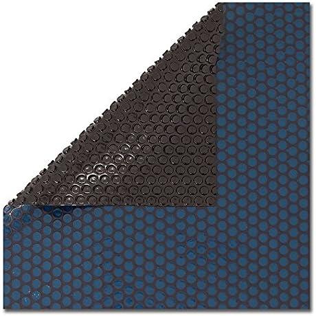 12 Mil Blue Black 16 X 32 Ft Rectangle Swimming Pool Solar Blanket Cover