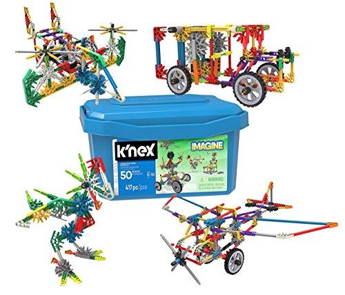 K'NEX 16511 Creation Zone 50 Model Building Set Construction Toy, Multi