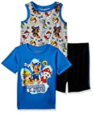 Nickelodeon Toddler Boys' Paw Patrol 3 Piece Short Set, Dark Blue, 4T