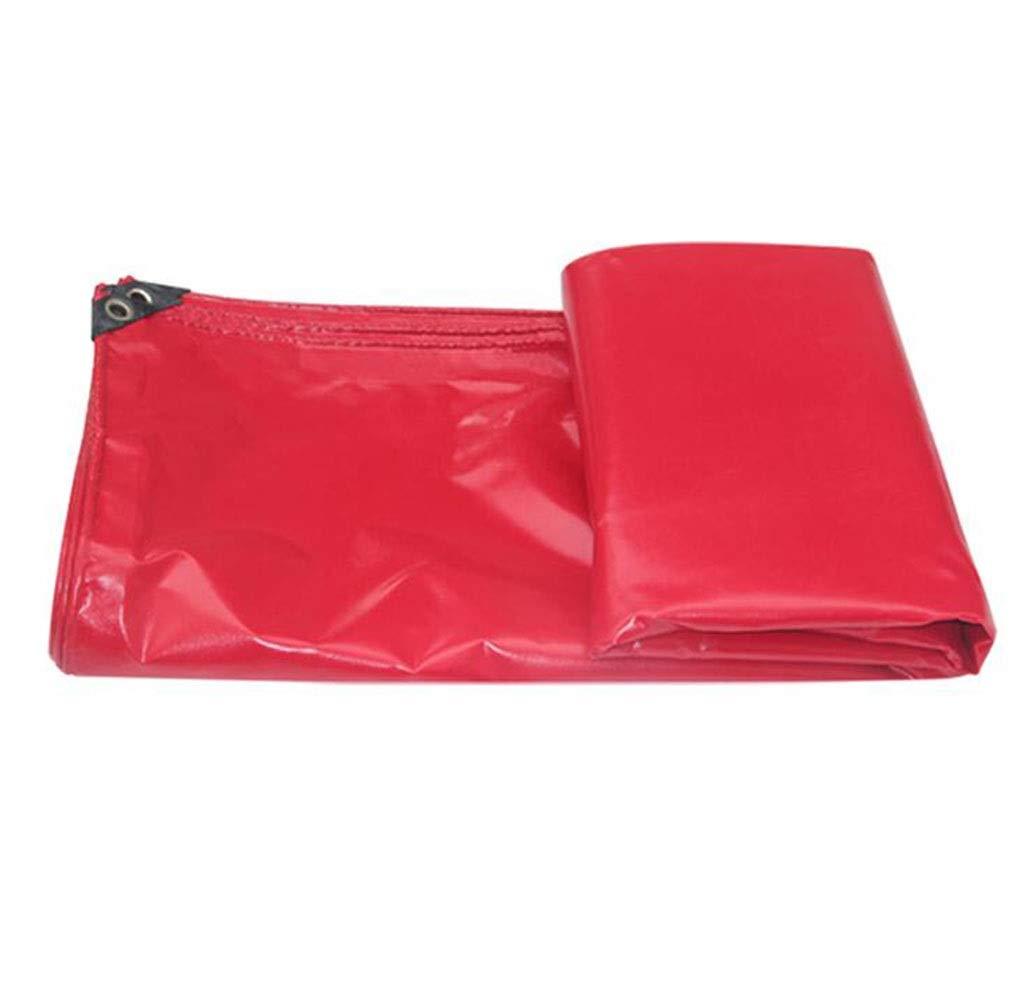 Yuke Copriruota Rosso Impermeabile con Protezione Solare (Dimensioni   5x6m)