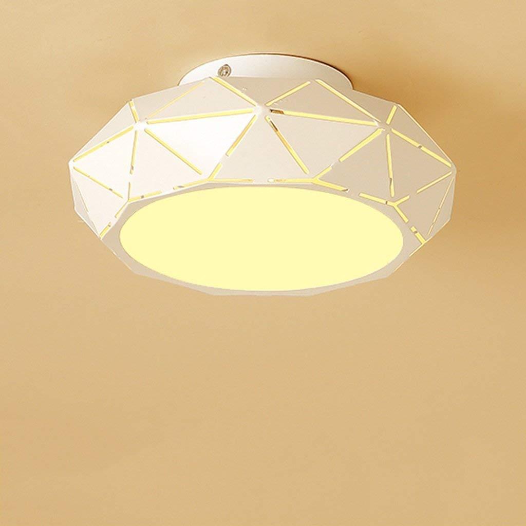 FXING Crystal Gang Flur Led-Modernen, minimalistischen Deckenleuchte Persönlichkeit kreatives Studium Lampen kreative Persönlichkeit einfach und Modern 5-W warmes Licht (Größe  22  6,5 cm)