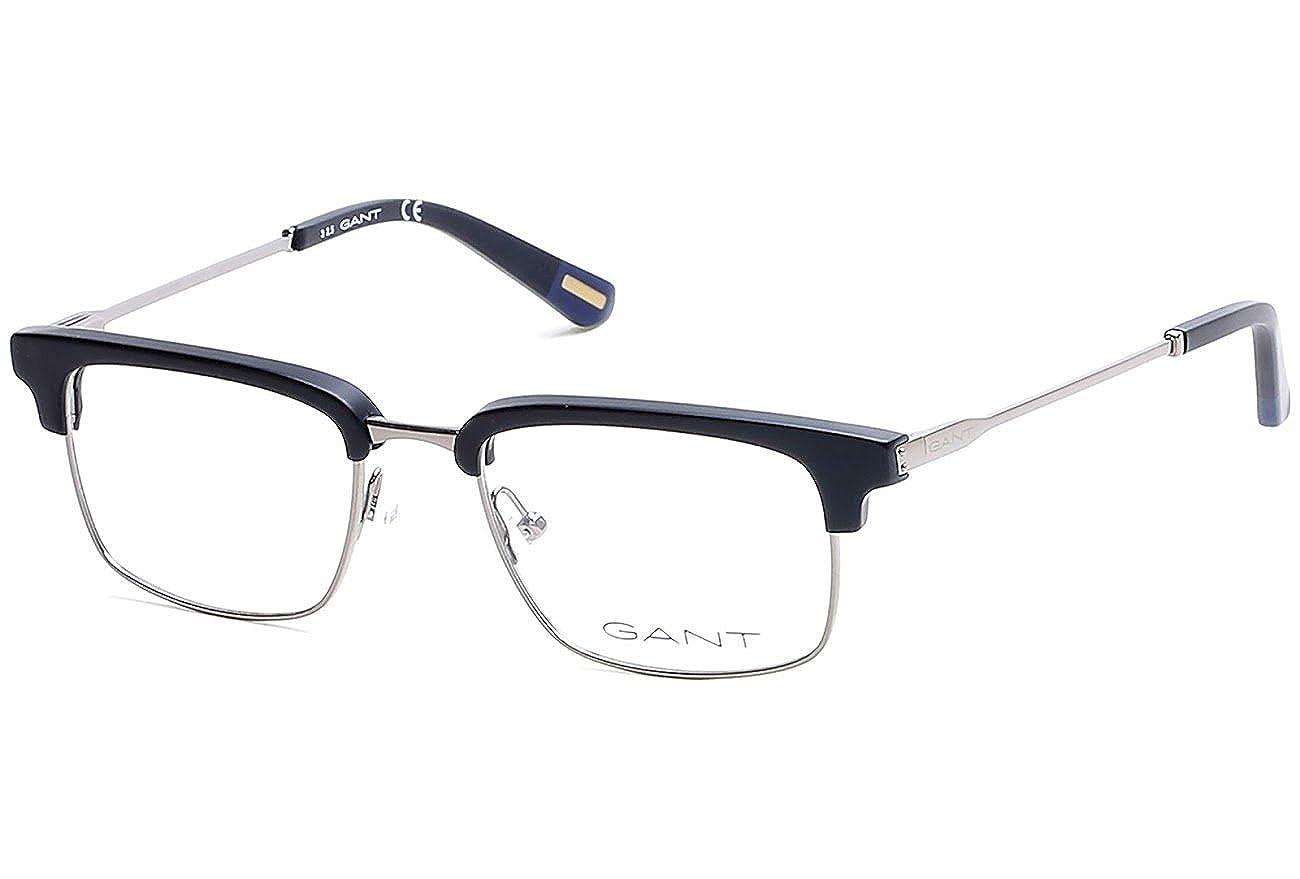 e8c0c1305c Gant GA 3127 002 53mm Matte Black Eyeglasses at Amazon Men s Clothing store
