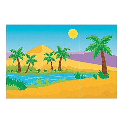 Desert Oasis Backdrop