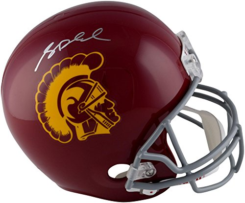 (Sam Darnold USC Trojans Autographed Riddell Replica Helmet - Fanatics Authentic Certified - Autographed College Helmets)