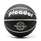 "picador Tire-Tread Rubber Street Basketball Official Size 7 (29.5"") (Black)"