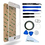 """IPHONE 6 / 6S 4,7"""" White Display Touchscreen Replacement Kit 12 Pieces Incl 1 Pair of Tweezers / 1 Roll of 2MM Adhesive Tape / 1 Tool Kit / 1 Microfiber Cleaning Cloth / Suction Cup / Wire"""