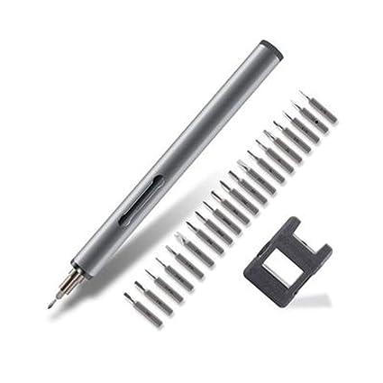 Mini 22in1 Electric Magnetic Precision Screwdriver Repair Tool Kit 20 Bits Set