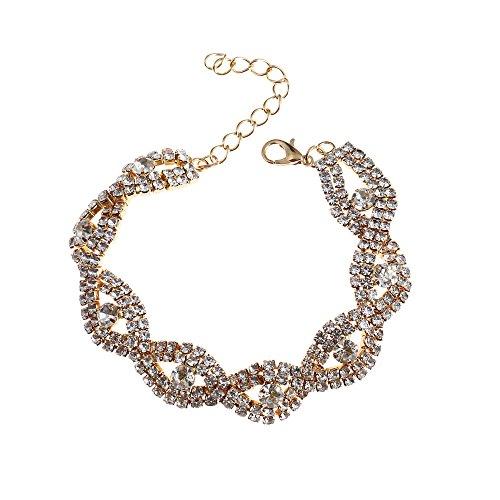 Bowisheet Evil Bracelet Wave Link Bracelet For Women Jewelry