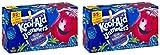 kool aid juice pack - Kool-Aid Jammers Juice Pouches, Blue Raspberry, 6 Fl Oz, 10 Count (Pack of 2)