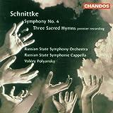 schnittke symphony 3 - Schnittke: Symphony No. 4 / Three Sacred Hymns