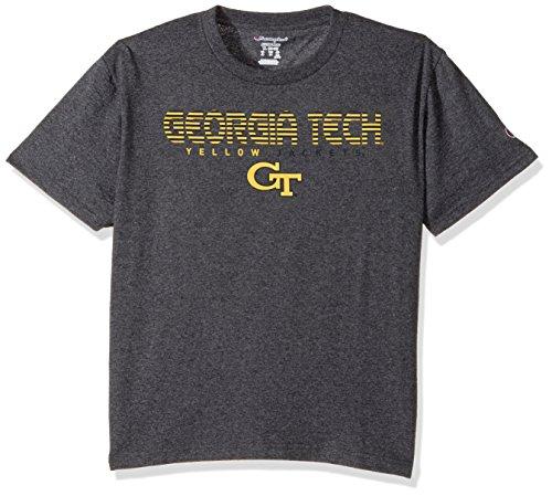 NCAA Georgia Tech Youth Boys Boy's Jersey T-Shirt 2, X-Large, (Champion Boys Tech Tee)