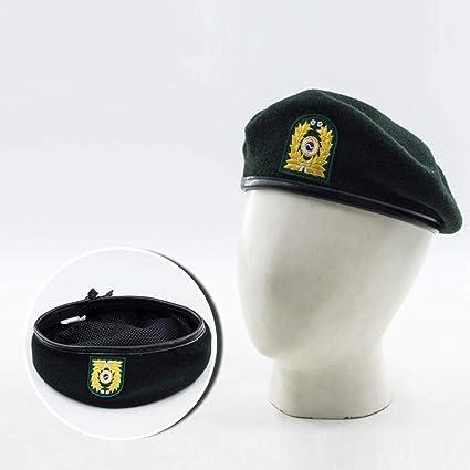 Defect Macho y Hembra Sombrero aplicable Boina Seguridad Casquillo Soldado  Sombrero Boina de Las Lanas d2e341fb85a