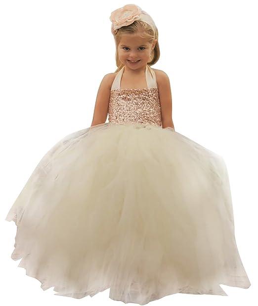 Amazon.com: Brillante vestido de baile lentejuelas parte ...