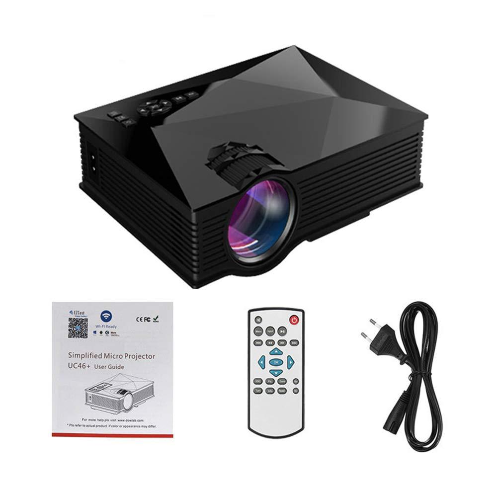 FAY Mini proyector con 1200 lúmenes, proyector de Cine Multimedia ...