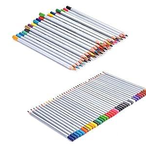 Colored Pencils, Ecocity Drawing Pencils for Sketch, 48-color