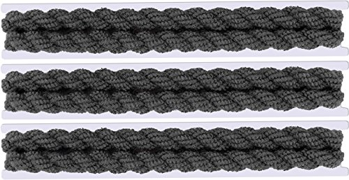 3 PACK - Military Blousing Garters Elastic Stretchy Boot Bands - 2 Piece Set (Black)