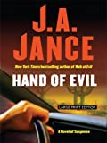 Hand of Evil, J. A. Jance, 1410403211