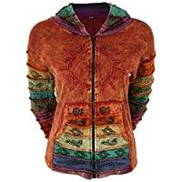 GreaterGood Sunshine Daydream Hooded Jacket (S/M, Rust)