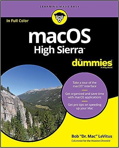 Amazon com: macOS High Sierra For Dummies eBook: Bob LeVitus