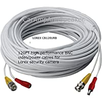 LOREX CB120URB Video RG59 Coaxial BNC/Power Cable (120ft) electronic consumer