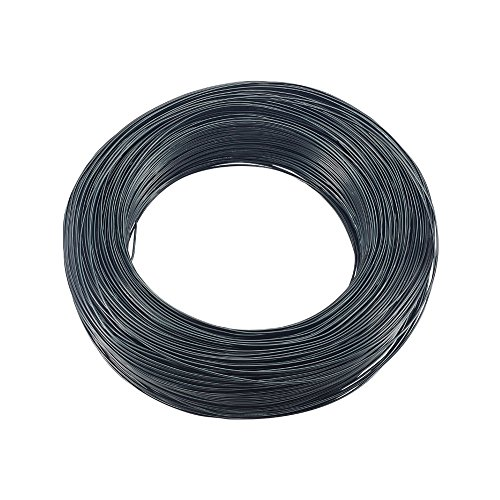 - PandaHall Elite 1 Roll Aluminum Craft Wire 18 Guage Black Flexible Artistic Floral Jewely Beading Wire Length 771 Feet for DIY Jewelry Craft Making
