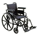 "Viper Plus GT Wheelchair - 20"" Desk Arm, Legrests"