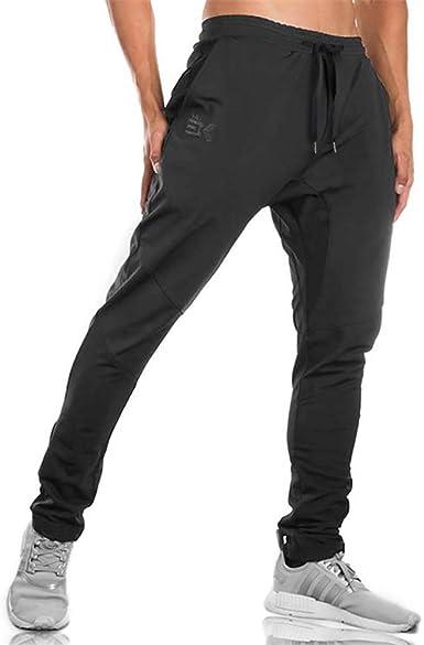 Mens Casual Pants Joggers Trousers Sports Gym Workout Sweatpants  Pants