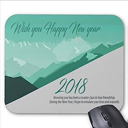 happy new year quotes for facebook custom photo mouse pad 7x866 inch