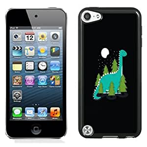 New Personalized Custom Designed For iPod Touch 5th Phone Case For Cute Cartoon Dinosaur Phone Case Cover