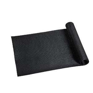 Kesper 77550 - Camino de mesa de plástico, 40 x 150 centímetros, color negro