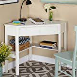 Corner Writing Desk, Antique White