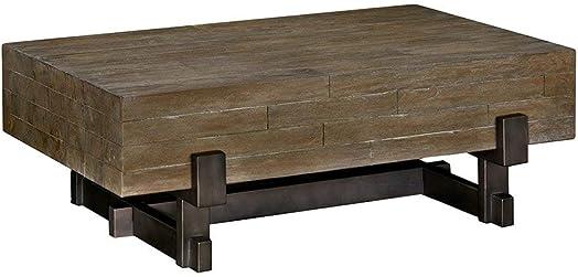 INK IVY Coffee Table See Below Reclaimed Brown Gun Metal