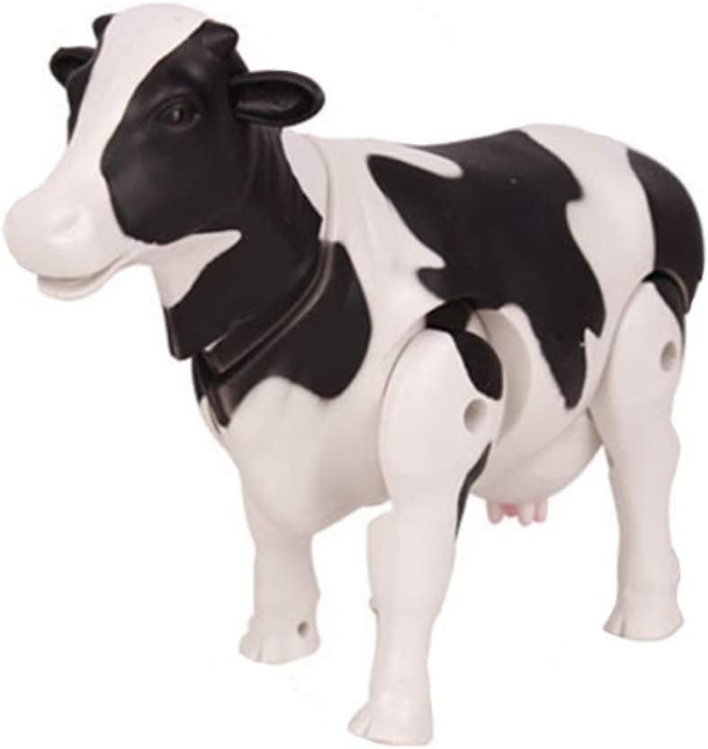 Coherny Electronic Pets Electric Milk Cow Toys Moo Moo Realistic Simulation Funny Cow Figure Toy Model for Kids Toddlers Electric Buffalo Toy