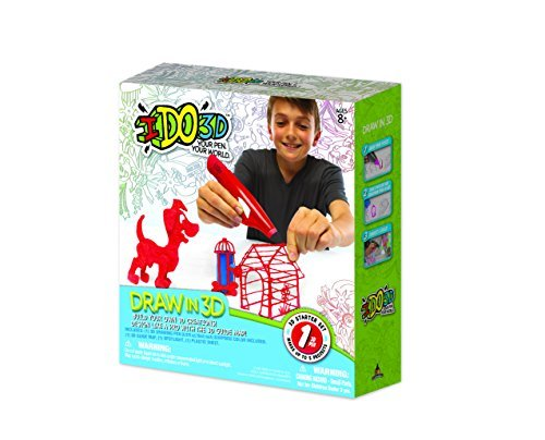 IDO3D Pets One Pack Pen and Ink Starter Set by IDO3D