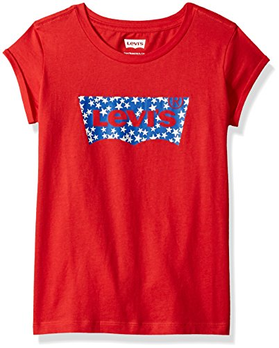 Levi's Girls Batwing T-Shirt, Mars Red, L