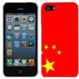 Apple iPhone 5 Chinese Flag Hard Case Phone Cover