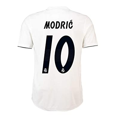 490bce66228  10 Modric Real Madrid Home 18-19 Season Mens Soccer Jersey Color White Size